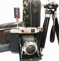 [EXC5 ]  Mamiya Six 6 Model IVB 120mm Rangefinder Camera D. Zuiko 75mm F/3.5