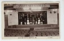 SMART SET CADETS, PRESTWICK 1911: Ayrshire postcard (C54526)