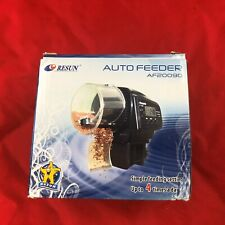 Resun Fish Tank Portable Auto Automatic Fish Food Feeder AF20090 4 Times a Day