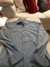 ! GUCCI Designer Hemd shirt hellblau 41/16