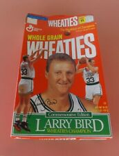 1993 Larry Bird Commemorative Edition Wheaties Cereal Box General Mills