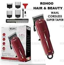 Wahl Clipper Inalámbrico Super Taper Profesional Red Modelo: 8591-831