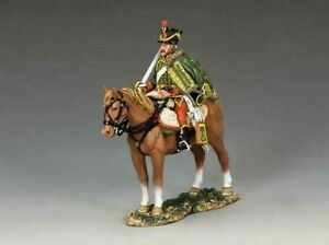 NA353 - 7th Hussar with Standing Horse - Napoleonics - King and Country