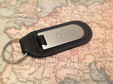 KIA Key Ring Blind Etched On Leather PICANTO RIO CEED SPORTAGE PROCEED SOUL