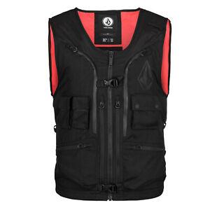 VOLCOM Mens 2022 Snowboard Snow - Iguchi Slack Vest - New Black