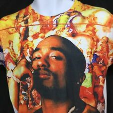 TUPAC T-Shirt Life Goes On 2Pac Shakur Rap Hip Hop Amaru/AWA 2014 Small 2Pac