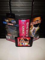 Alien Soldier   - Video Game for Sega Genesis! Cart & Box!