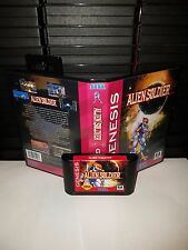 Alien Soldier   - Video Game for Sega Genesis! Cart & Box!