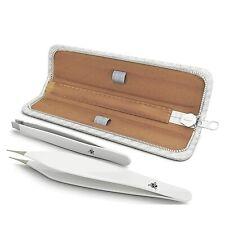 Premium Stainless Steel Tweezers Set  for  Pluckers, Ingrown Hair, Tick Removal