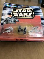 New Galoob Star Wars Micro Machines 65860 XII Vehicles Sealed A-Wing Y-Wing 1997