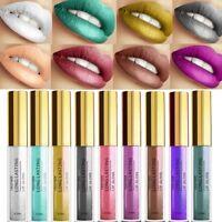 30 Colors Metallic Lip Gloss Waterproof Matte Liquid Lipstick 23