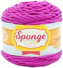 Lion Brand Sponge Cake Yarn-Pink