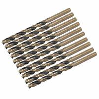 Straight Shank 3.0mm Diameter HSS Twist Drill Drilling Hole Bits 10pcs
