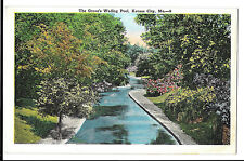 The Grove's Wading Pool, Kansas City, Mo PPC, Unposted by E C Kropp