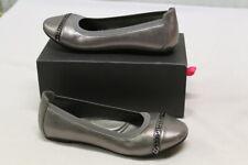 Elie Tahari Women's Chain Link Ballet Pewter Shoes Size 5