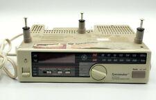Vintage GE Spacemaker AM/FM Radio Light Outlet Model 7-4230A Under Cabinet Mount