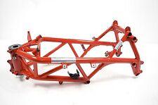 Oldtimer Fahrwerk und Rahmen in Rot für Motorrad