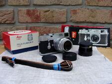 """Leitz Wetzlar - Leica M2 Kit Fat Tele Elmarit 2.8/90mm """"Serviceziert"""" - Top!"""