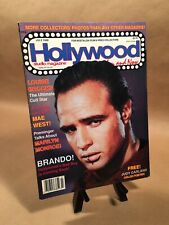 HOLLYWOOD Then And Now Magazine Back Issue (PH1) - July 1988 Marlon Brando