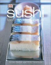 Sushi - Taste and Technique by Kimiko Barber and Hiroki Takemura (2002, Hardcov…