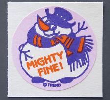 Vintage TREND Stinky Stickers VANILLA matte Scratch-N-Sniff sticker