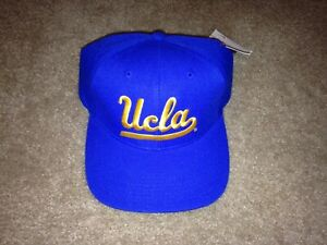 Vintage UCLA Bruins Fitted Hat Cap Sports Specialties Nike Script Wool Sz 7 1/8