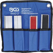 BGS Schraubstock Schutzbacken 8 Sätze Schonbacken 150 mm Magnet Aluminium