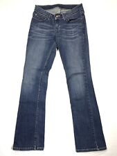 LEVI'S Womens Juniors sz 5 M x 30 Medium Wash Boot Cut Blue Jeans Low Rise Denim