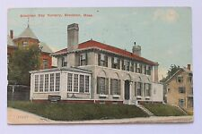 Old postcard Brockton Day Nursery, Brockton, MA, 1918