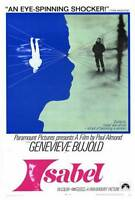 ISABEL Movie POSTER 27x40 Genevieve Bujold Lynden Bechervaise Therese Cadorette