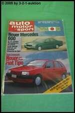 AMS Auto Motor Sport 3/88 DB 600 190 D 2.5 Turbo Saab 9000 Toyota Supra