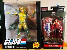 New listing G.I. Joe Serpentor 10-Inch Figure Statue - Pcs Collectibles Pvc Mint in Box
