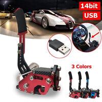 14Bit PC USB Handbrake SIM For Racing Games G27/G29 T500 FANATECOSW DIRT RALLY#