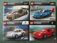 LEGO SPEED CHAMPIONS BUNDLE, 75890, 75891, 75892 & 75895 FERRARI PORSCHE BNIB