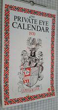 More details for private eye calendar 1970