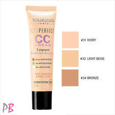 Bourjois 123 Perfect CC Cream Foundation Face Skin Hydration Oil Free 30ml SPF15