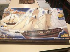 OcCre Dos Amigos Brig Schooner 1:53 Scale Ship Model Kit