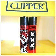 Clipper Lighters Cool Rare Pin Up Red Light District XXX Smoke Amsterdam Gift