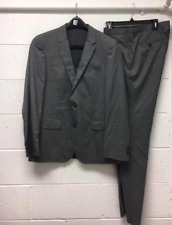 New Men's Hugo Boss Gray Two Button Suit US SZ 40 R $2,995