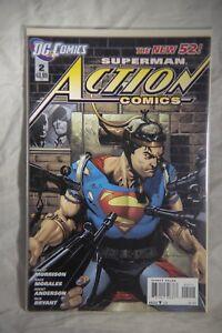 DC Comics Superman Action Comics (The New 52) Issue#2