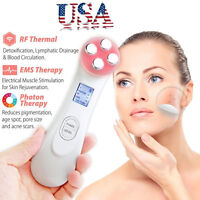 AAA LED Photon Face Skin Care Spa Mesotherapy Electroporation RF Radio Frequency