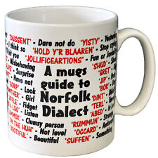 Norfolk Dialect Coffee - Tea Mug - Joke - Idea Gift / Secret Santa