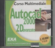 2000 Start AutoCad 2000 2D. Corso avanzato CD-ROM di De Stephanis Anna - EXA