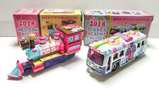 Tokyo Disney 2018 New Years Resort Cruiser River Railroad Diecast Car SET Tomica