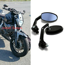 "Motorcycle 7/8"" Handle Bar End Mirrors For Yamaha XSR900 / Triumph Thunderbird"