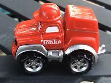 2000 Maisto Tonka Little Chuck Hasbro Red fire truck Engine  character toy car