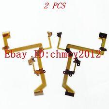 2pcs LCD Flex cable For Panasonic SDR-H40 SDR-H48 Video Camera Repair Part