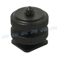 """Hot Shoe Mount to 1/4"""" Shoe Adapter for Zoom HS-1  H4n H2n Q2HD Q3HD"""