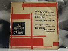 "DUKE ELLINGTON E LA SUA ORCHESTRA - BEALE STREET BLUES EP 7"" VG+/EX- 7E PQ 515"