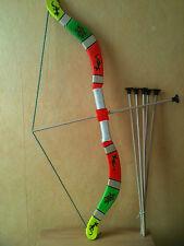 Arc pour enfants en bois + fleches  taille 75 cm (jeux jouet enfant)